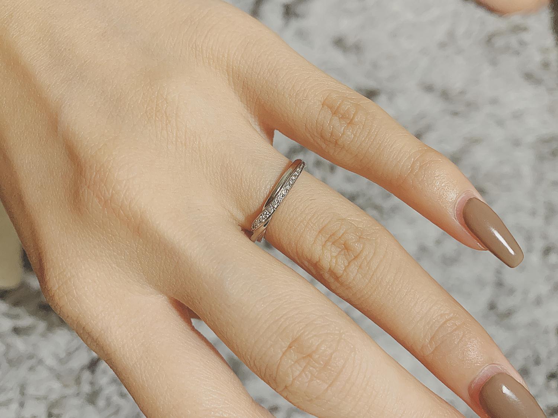 理由:指輪が大きくてサイズが合わない