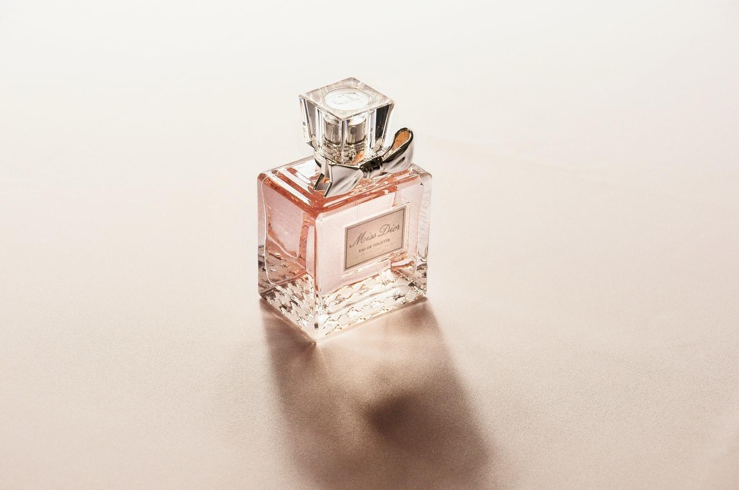 香水の香り方について