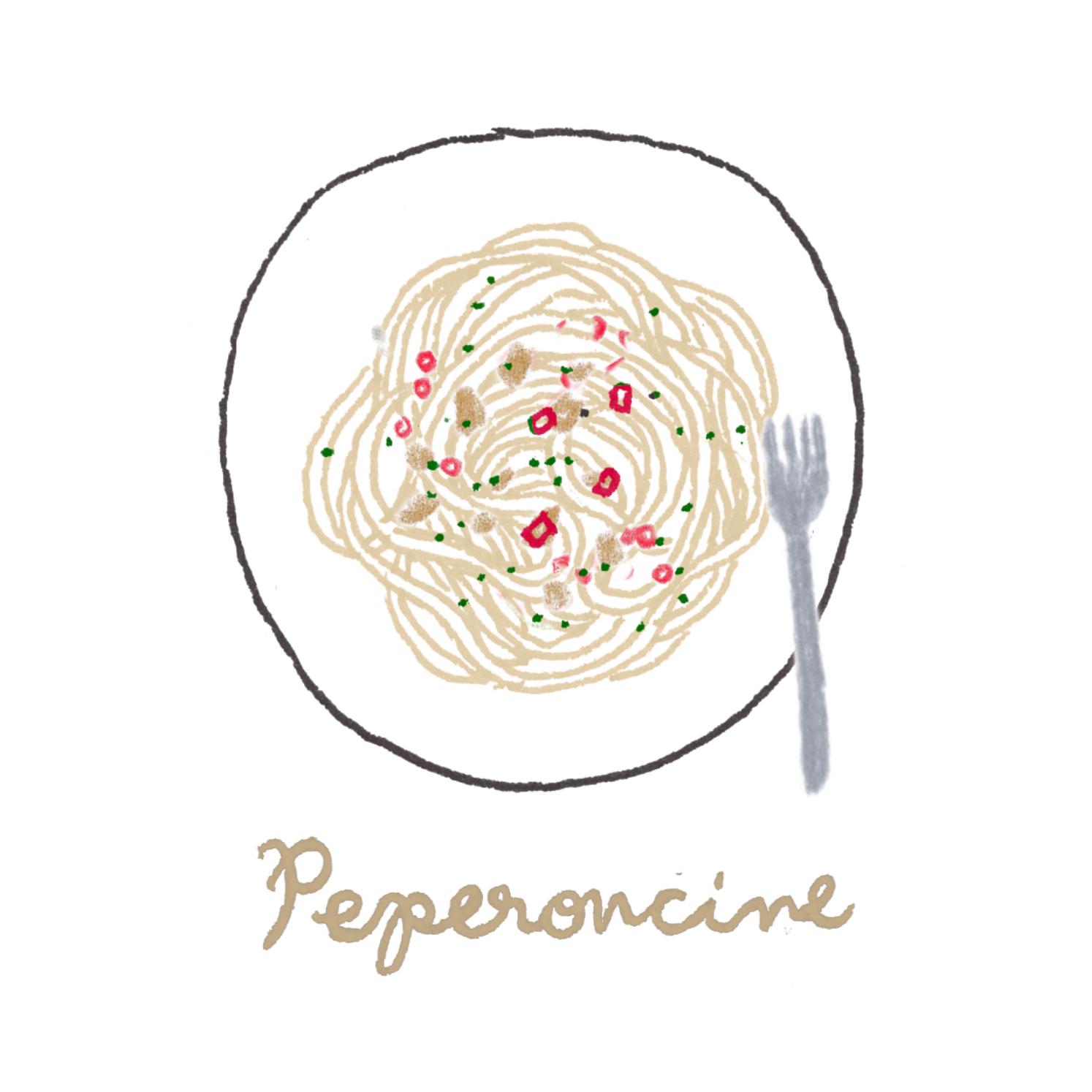 B:ペペロンチーノ