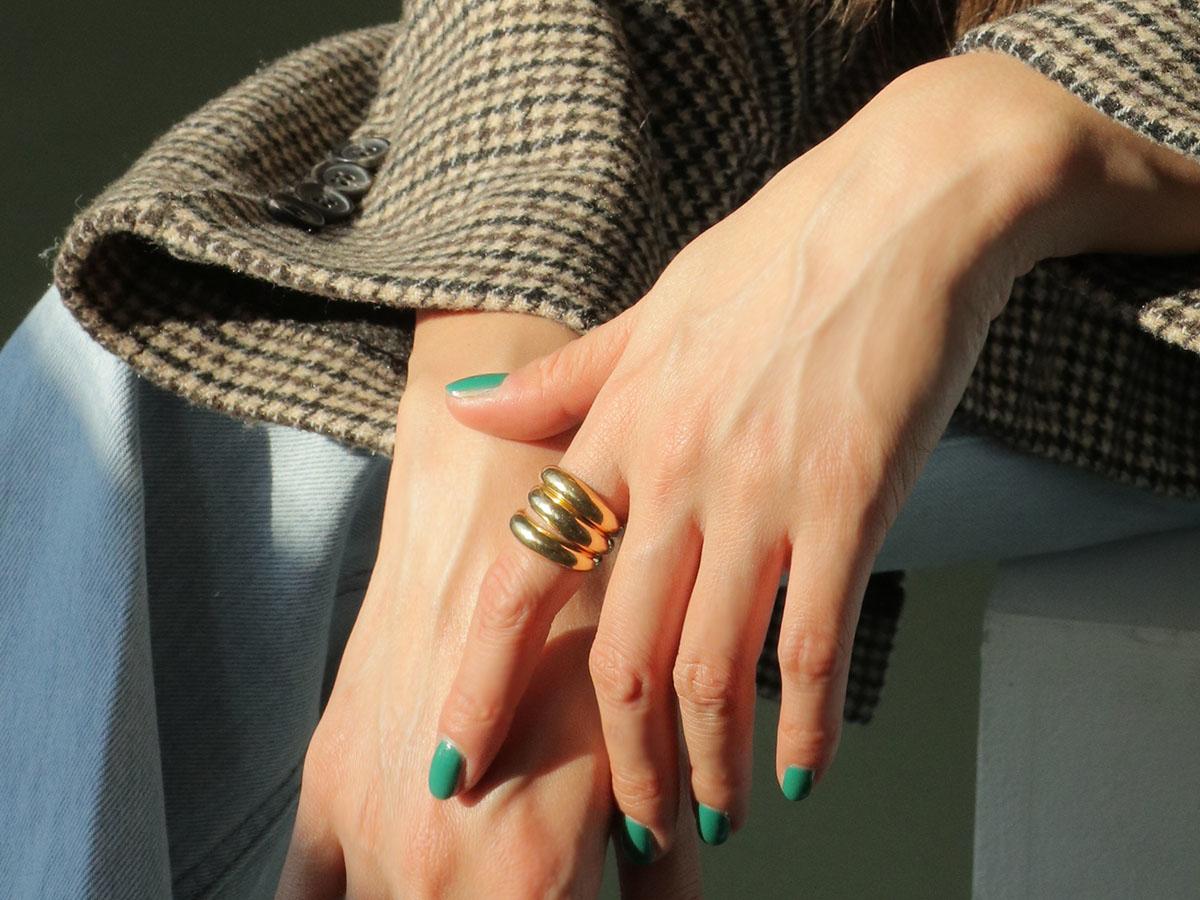 素敵なネイルに指輪もプラスしませんか?