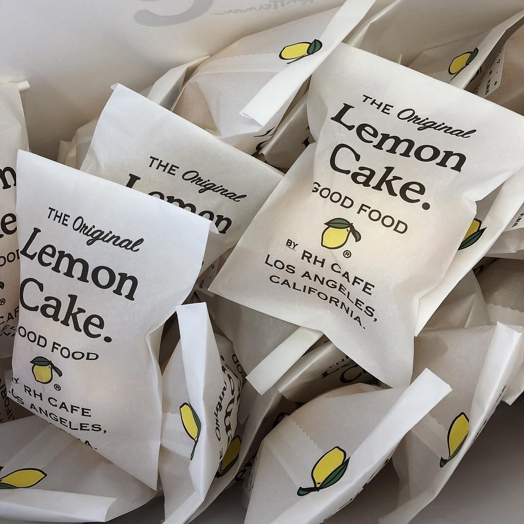 さっぱりした味のレモンケーキをセレクト