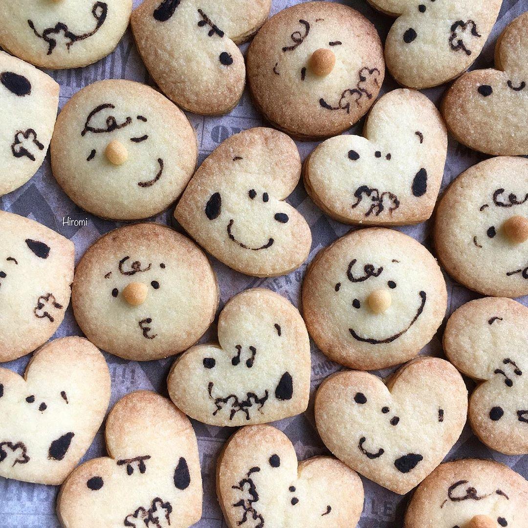 形抜きクッキー