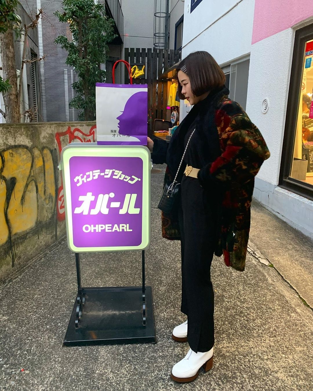 原宿の『オパール東京』で買う!