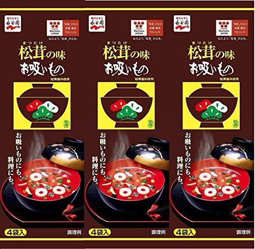 松茸の味お吸い物 4袋入×3個