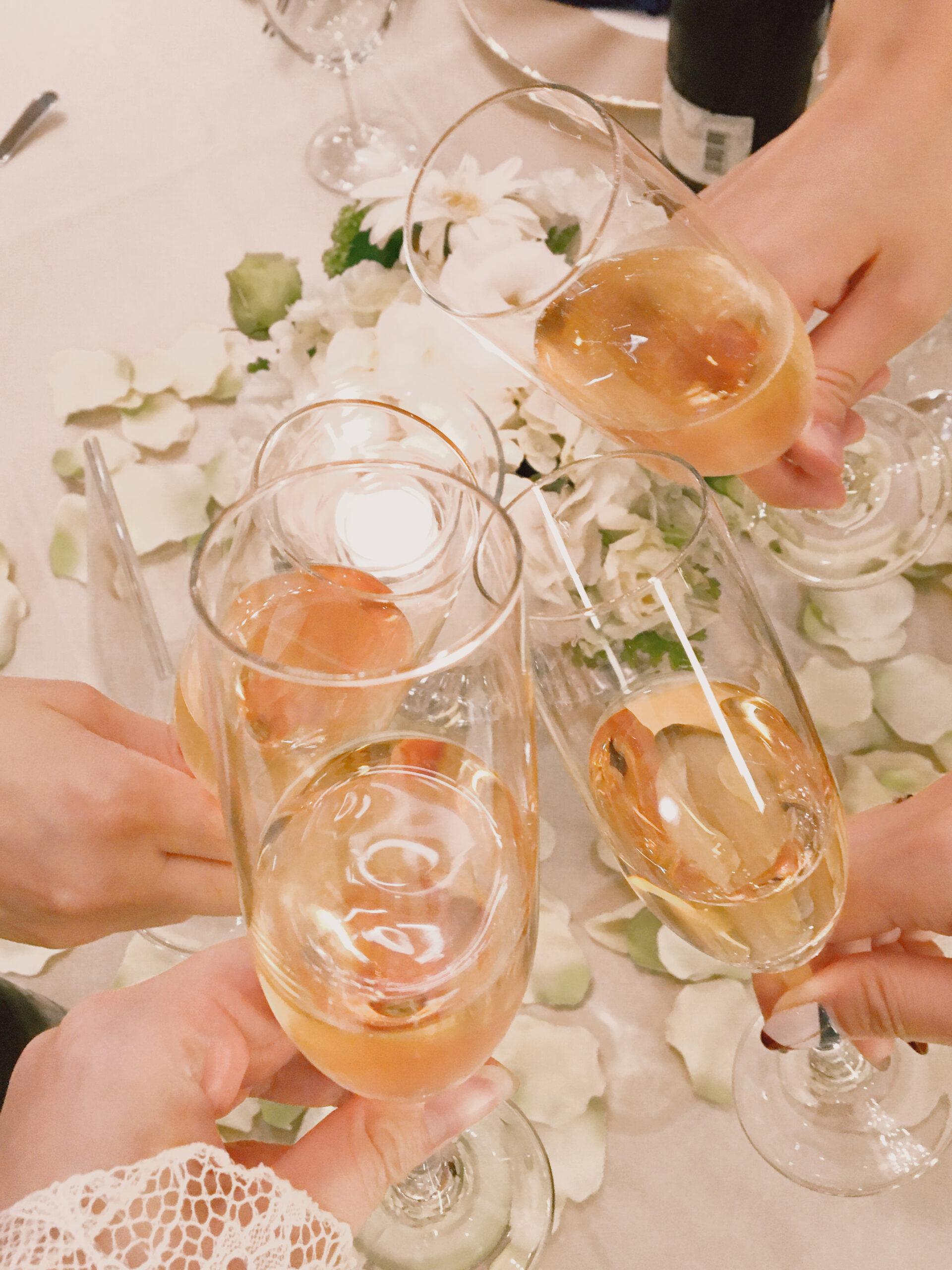 友達の結婚式