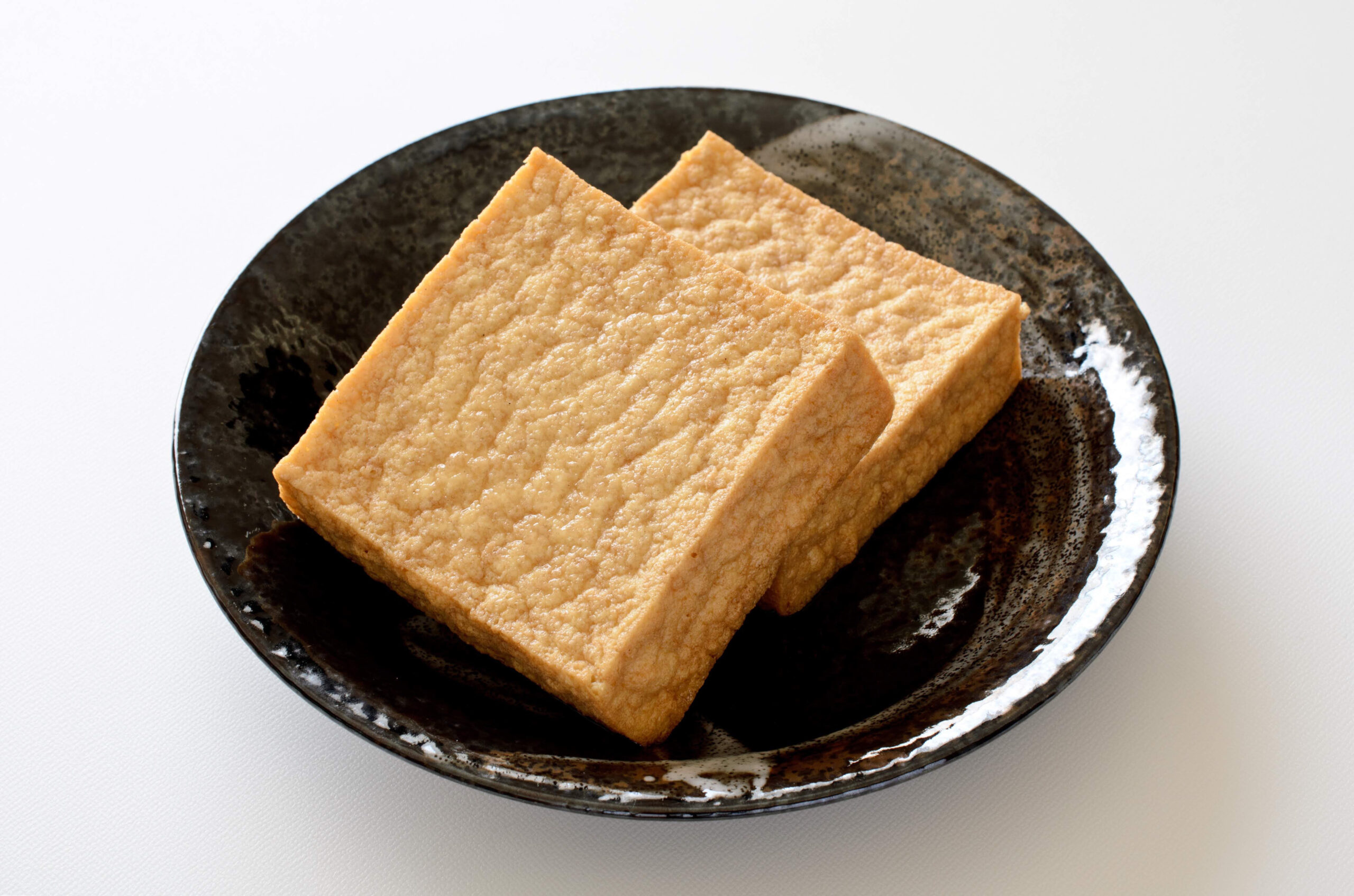 主菜:厚揚げ豆腐