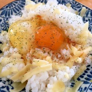 カルボナーラの卵かけご飯☆