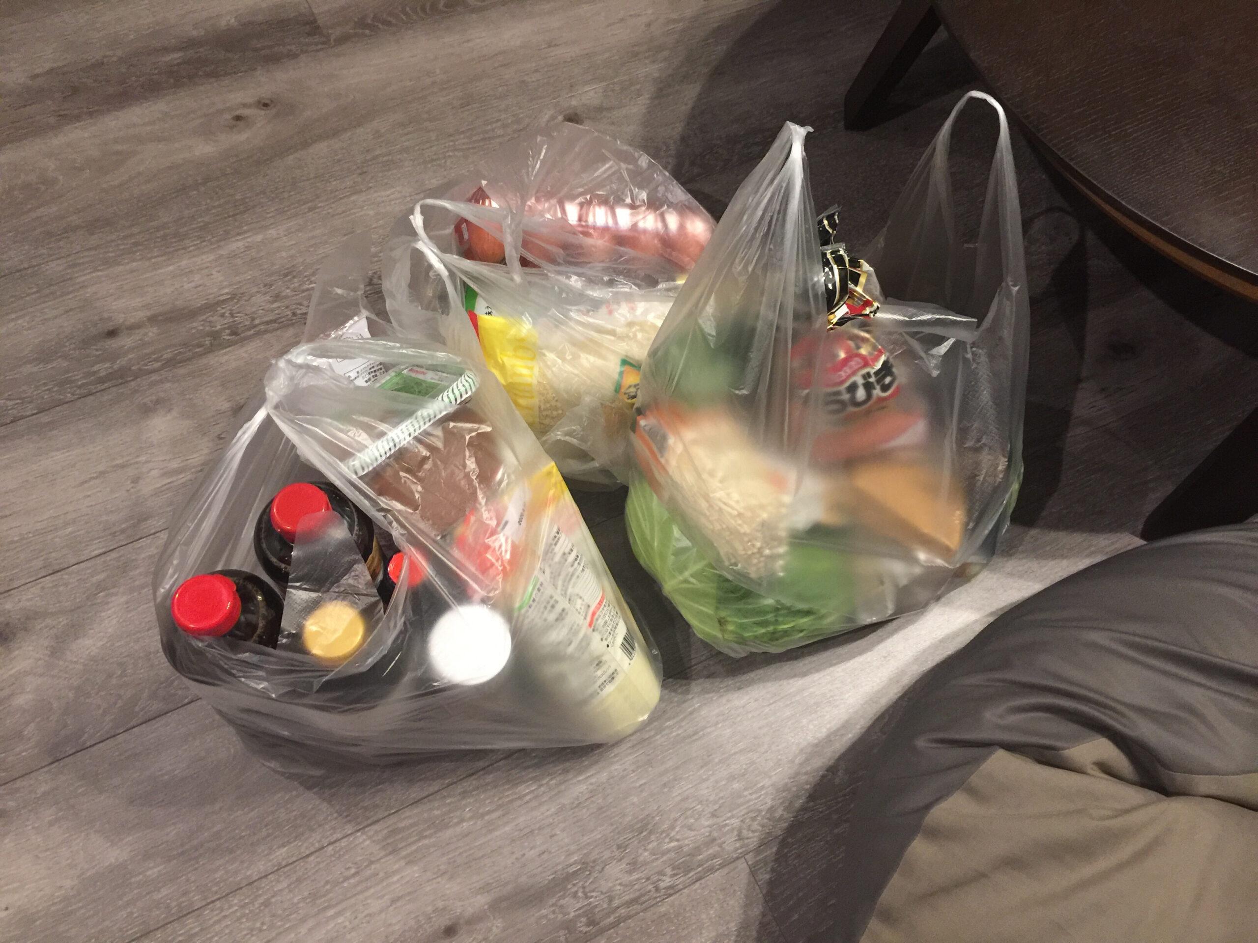 (2)業務用スーパーで買い溜め