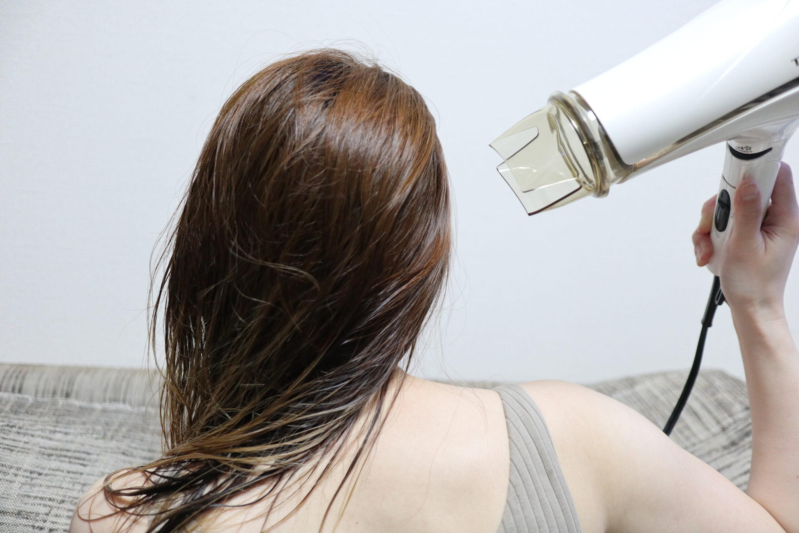 03|髪の毛の自然乾燥はNG