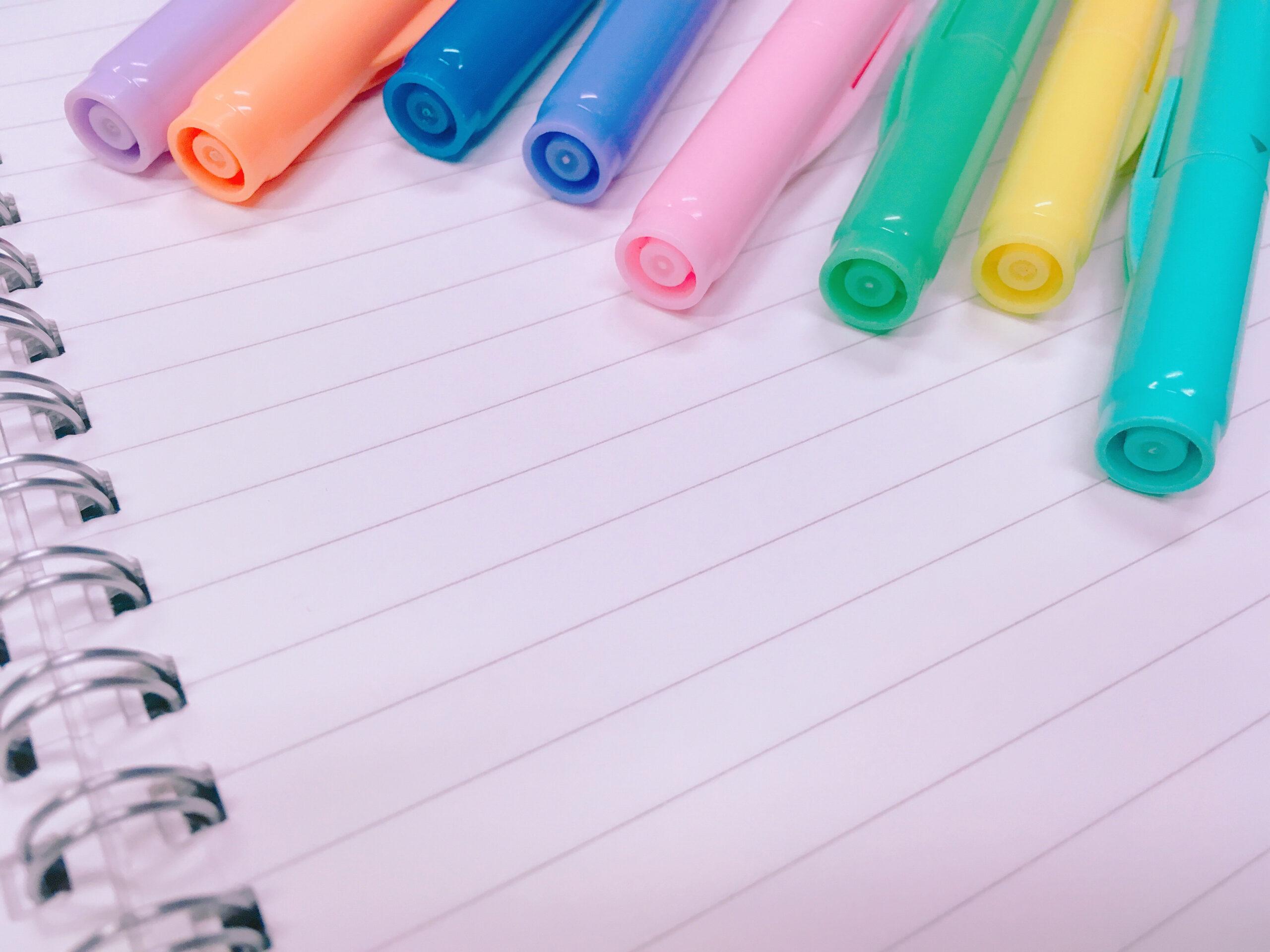 まずはペンの種類を把握しよう