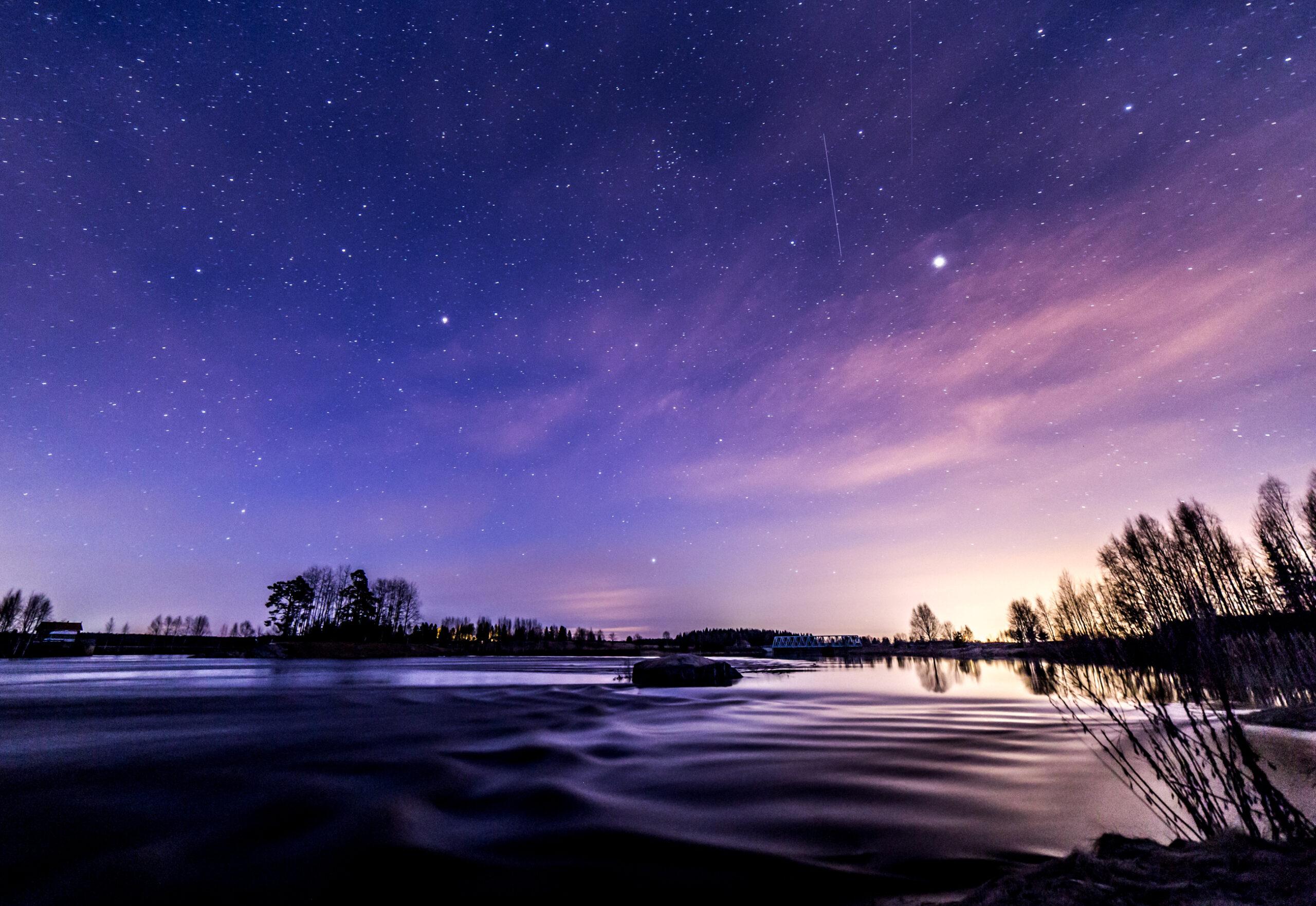 満天の星空を見る夢