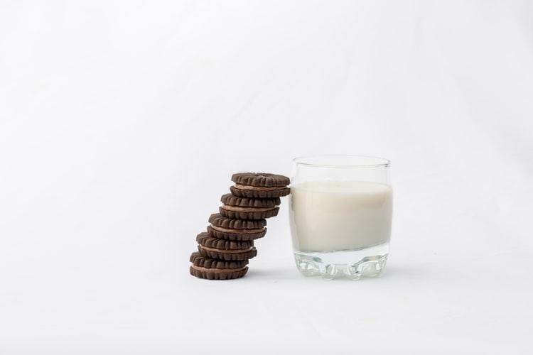 ミルクを低脂肪タイプに変える