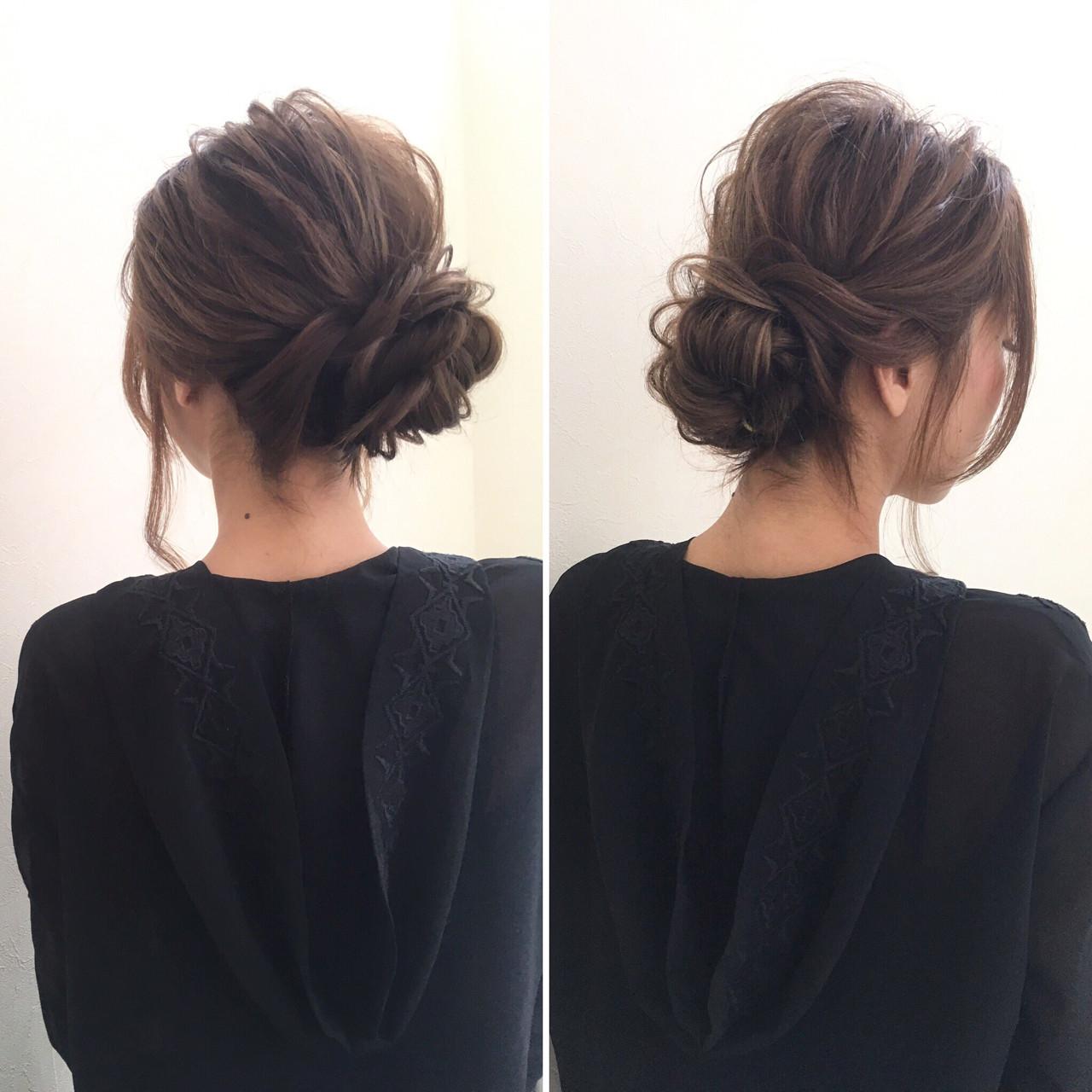 :まとめ髪