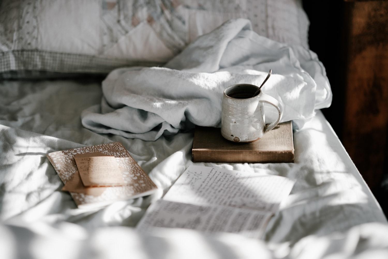 (2)朝の外出前