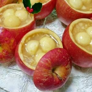 まるごとりんごの寒天ゼリー