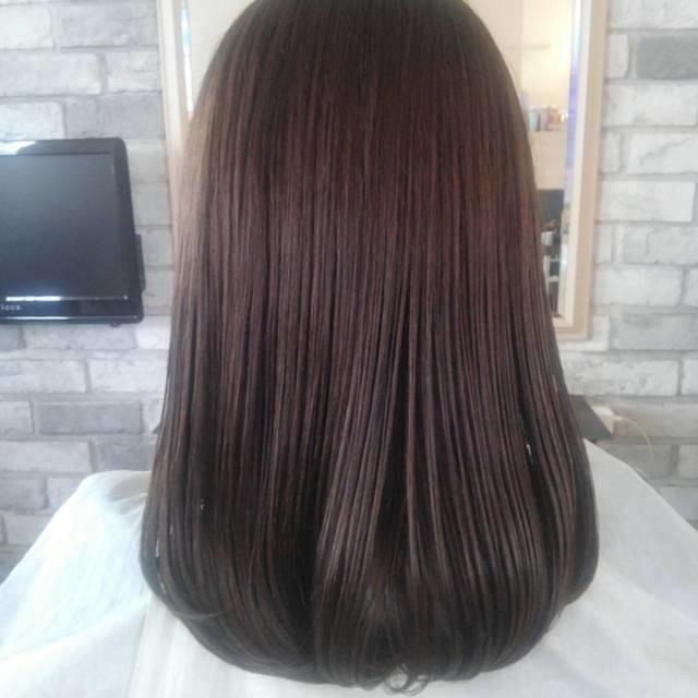 サラサラな髪の毛が羨ましい