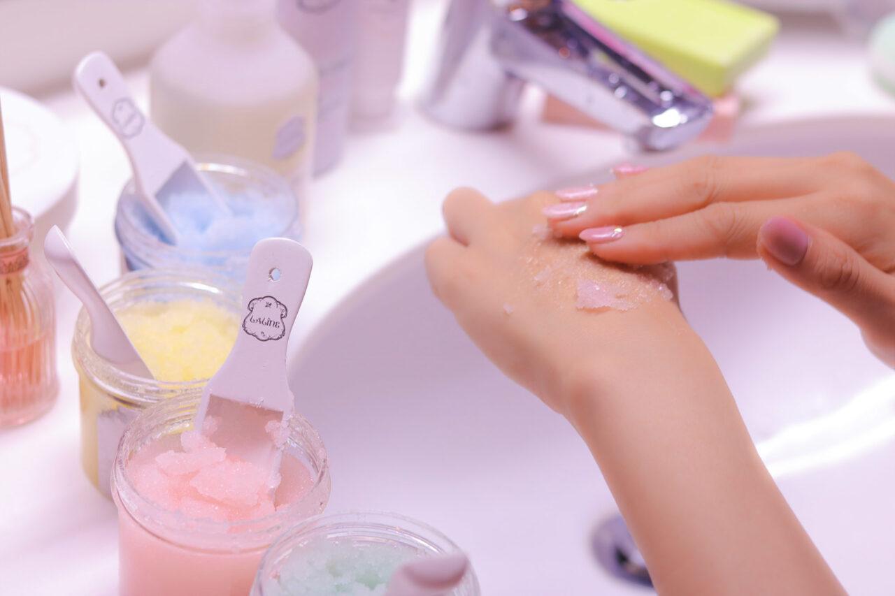 1|お風呂上りの、つるすべ肌仕込みを