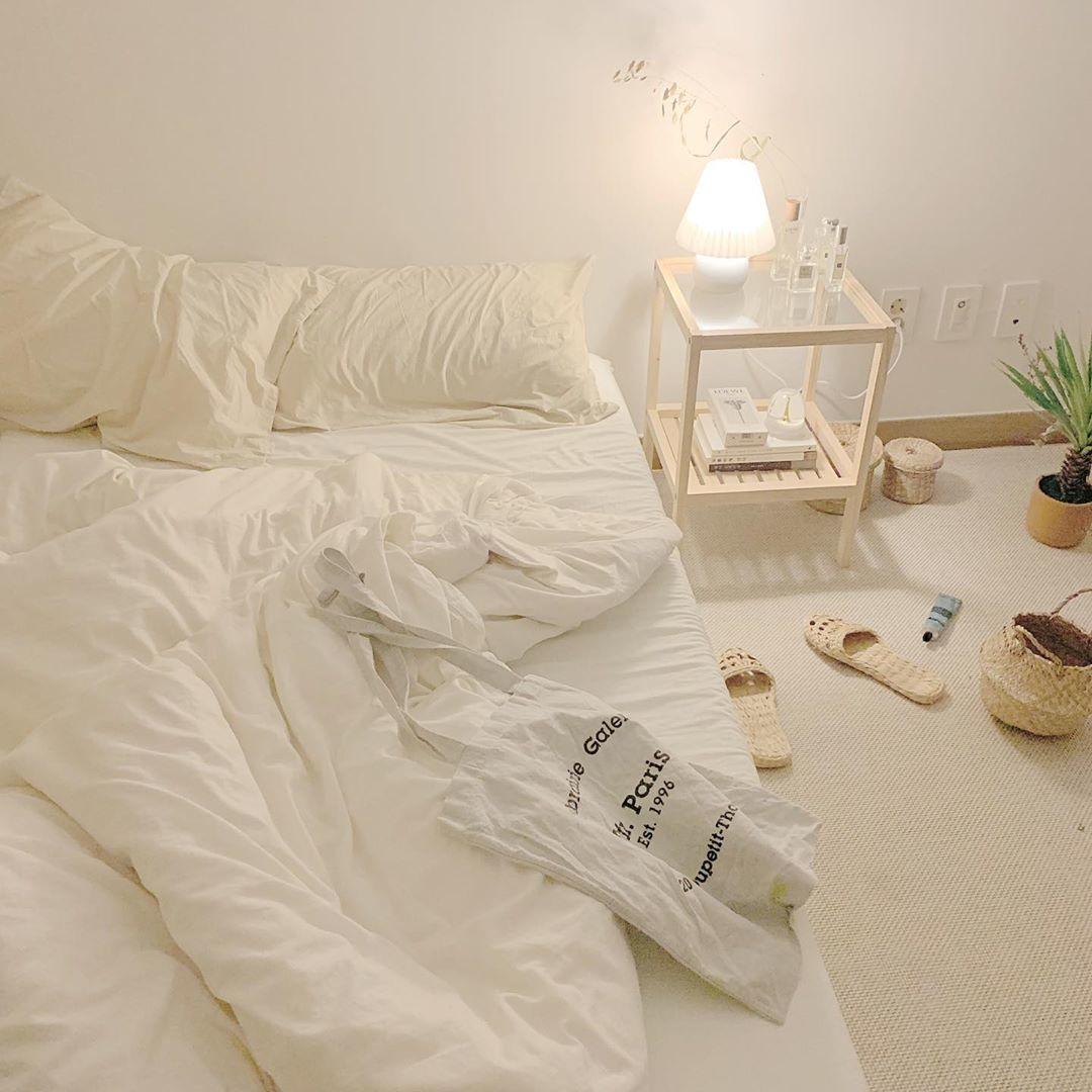 シンプルな暮らしの参考になる韓国の部屋