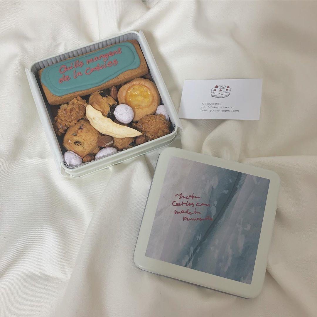【番外編】プレゼントに渡したいクッキー缶
