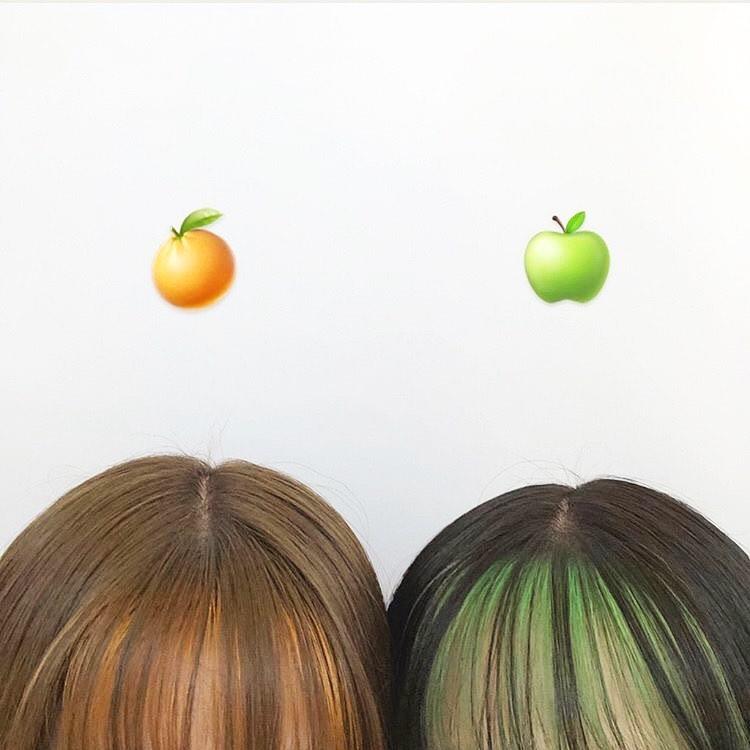 初めての前髪インナーは何色にする?