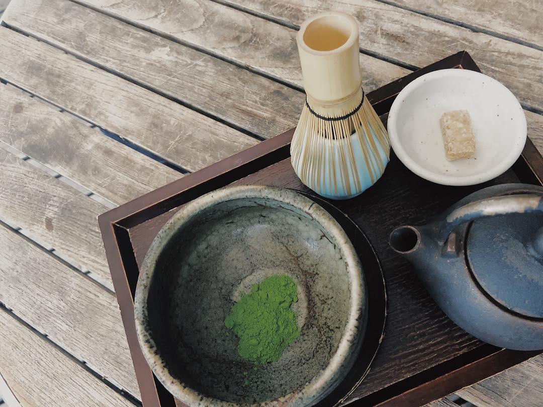 抹茶を使った和スイーツが豊富|神楽坂 茶寮 本店