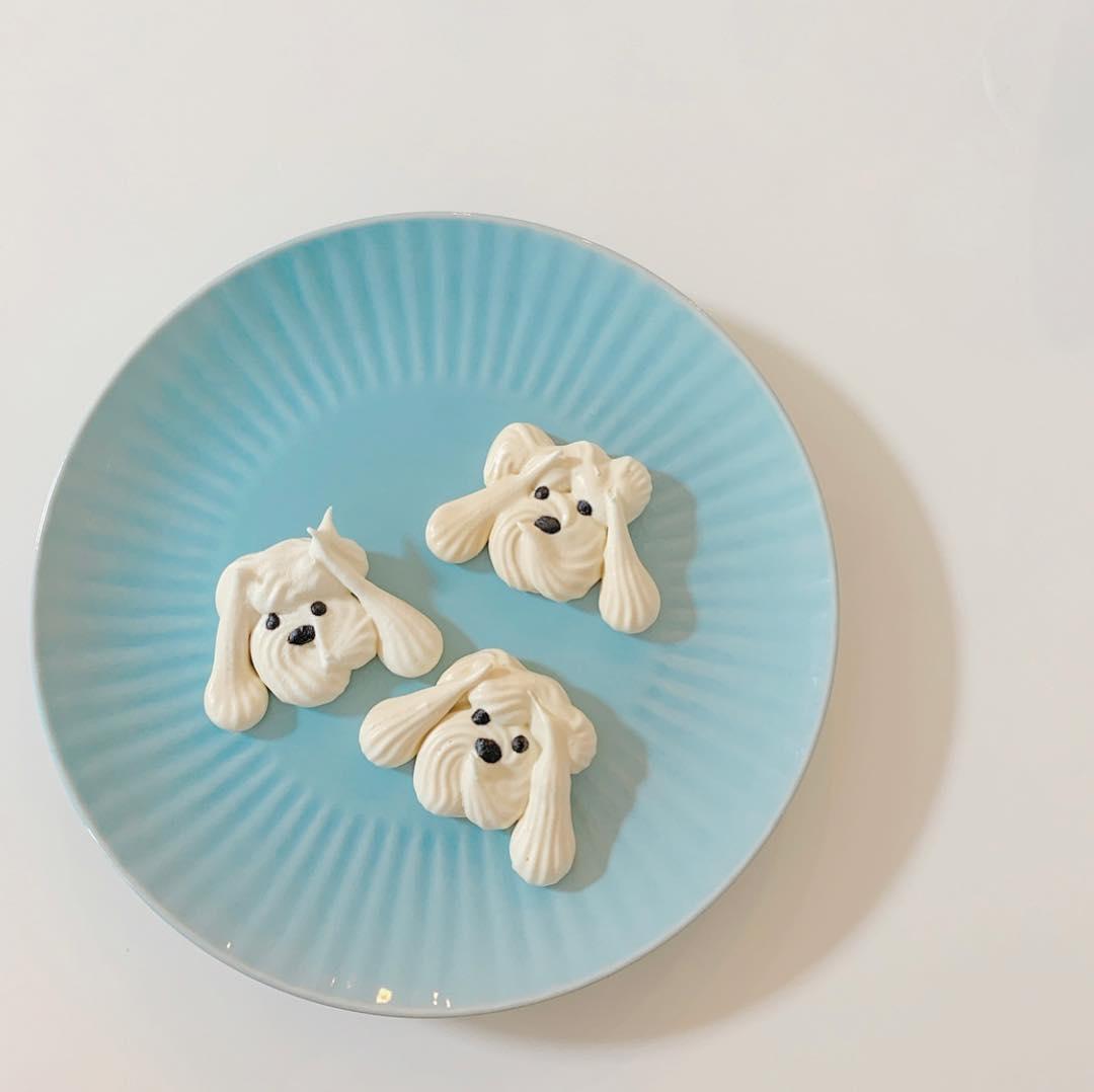 3.可愛い形のメレンゲクッキー