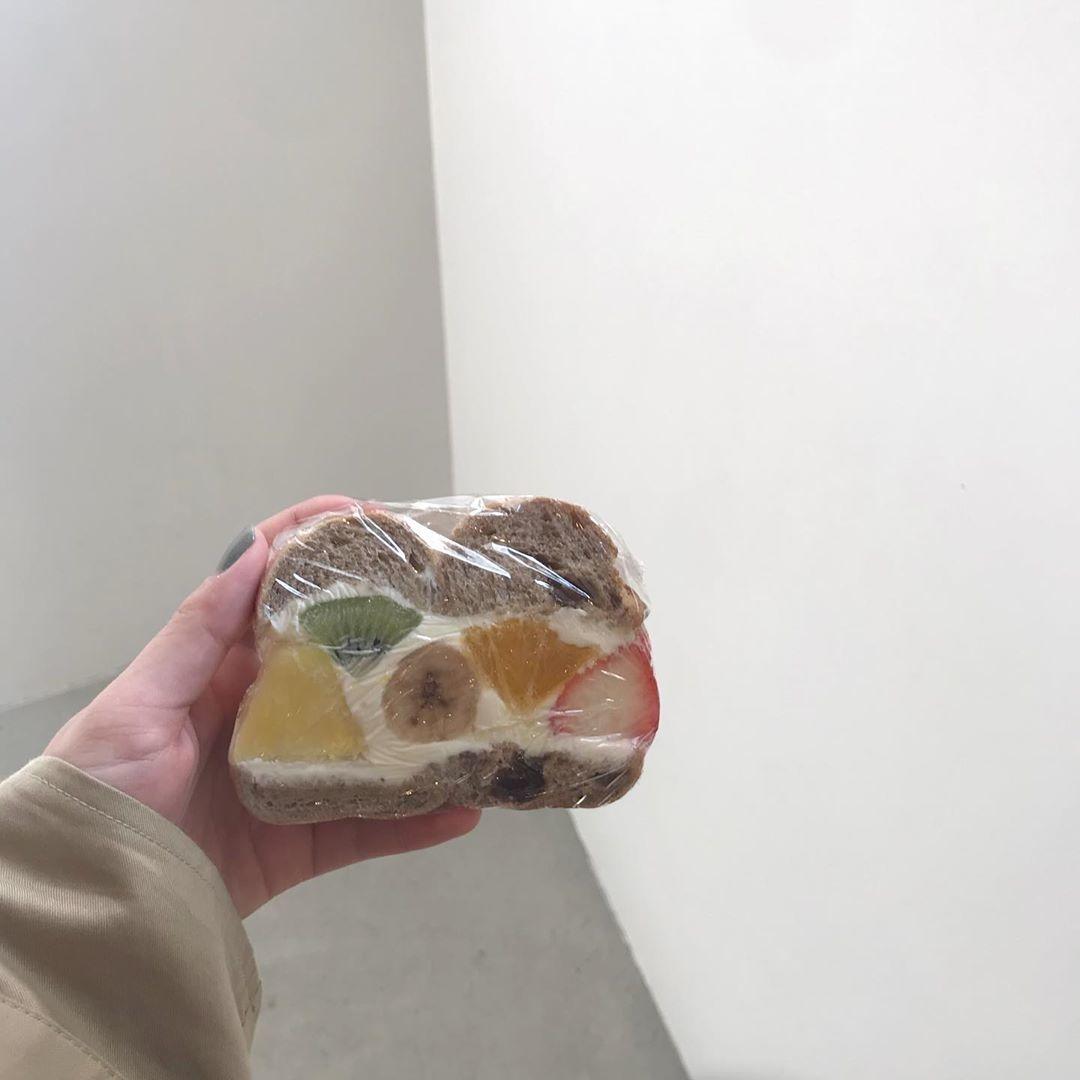 フルーツ×ベーグル