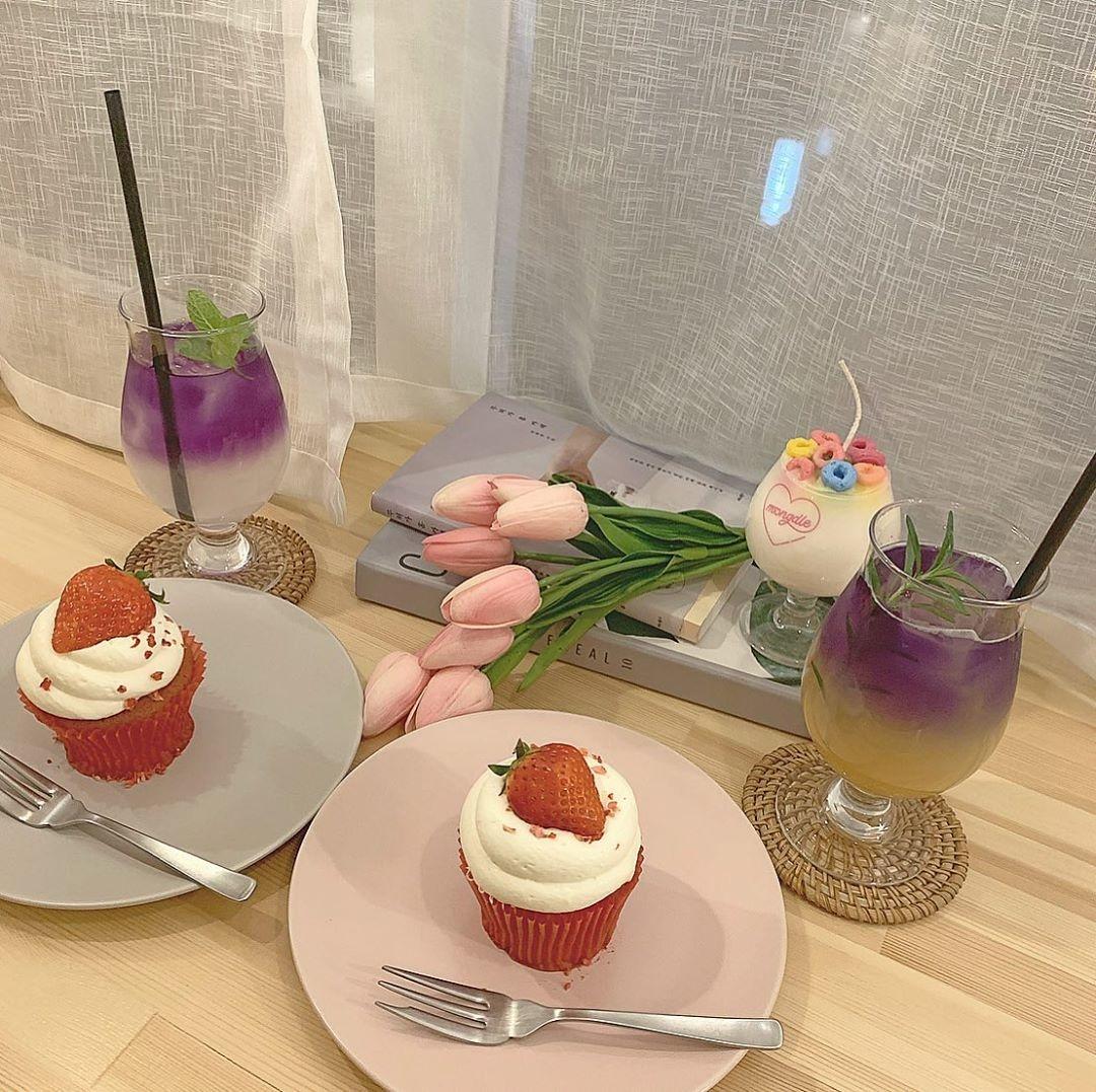 心斎橋は、可愛いカフェの宝庫でした♡