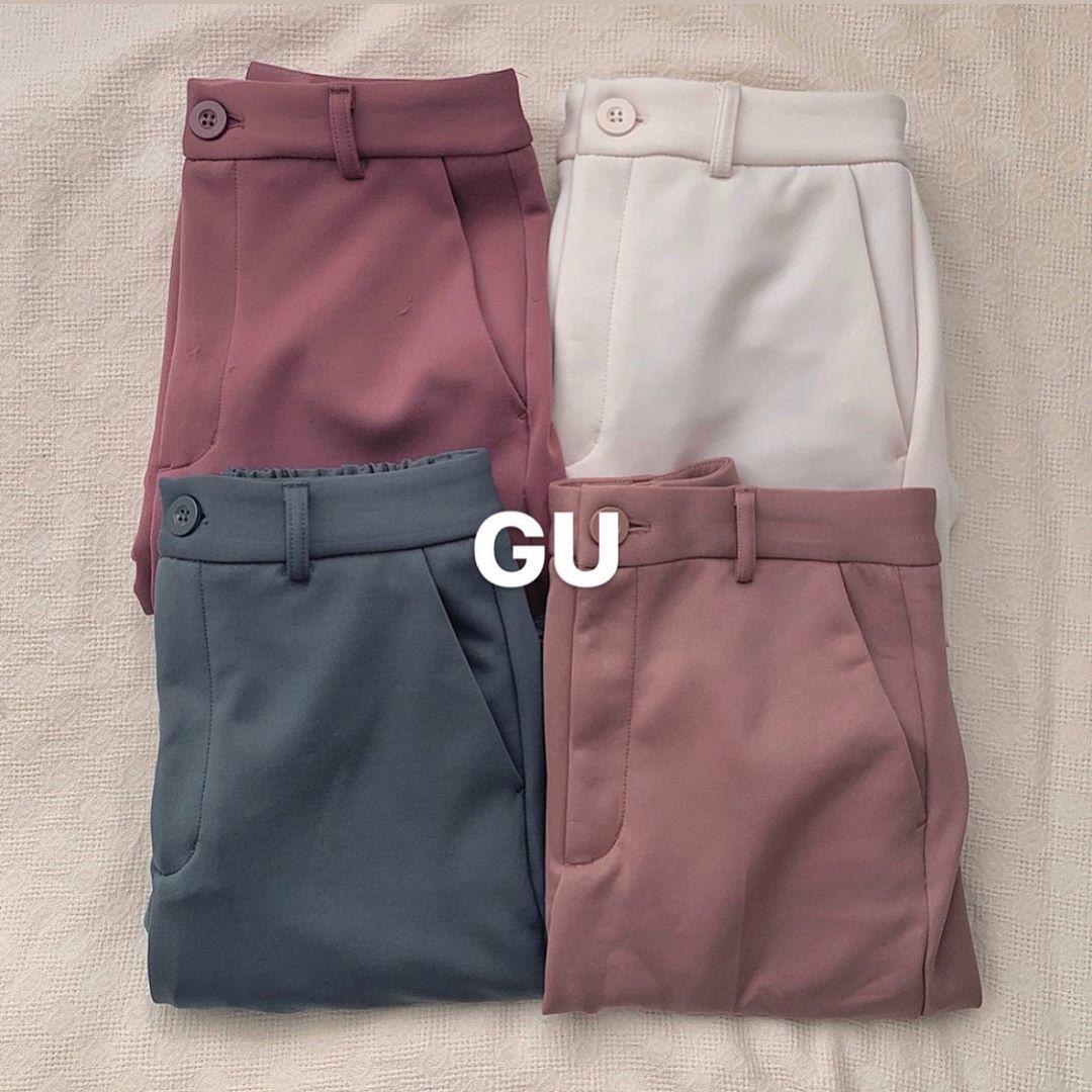 GUの3つのパンツが話題だって