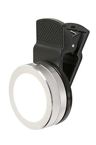 自撮りライト LED