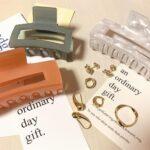 普段のコーデに彩りを加える。『an ordinary day gift』のアイテムを身につけて