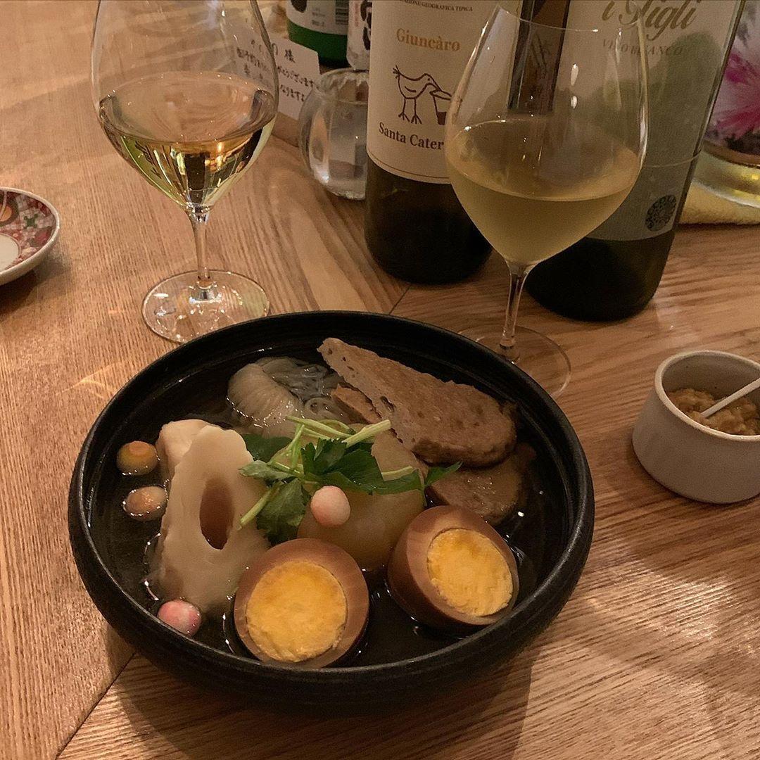 """ナチュラルな君がいちばんなんだ。東京で""""おでんとワイン""""のマリアージュに酔う週末"""