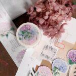 繊細なイラストに目を奪われる。pinkoiで見つけた、美しいマスキングテープ図鑑