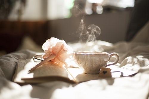 優雅な朝の時間でセレブ気分