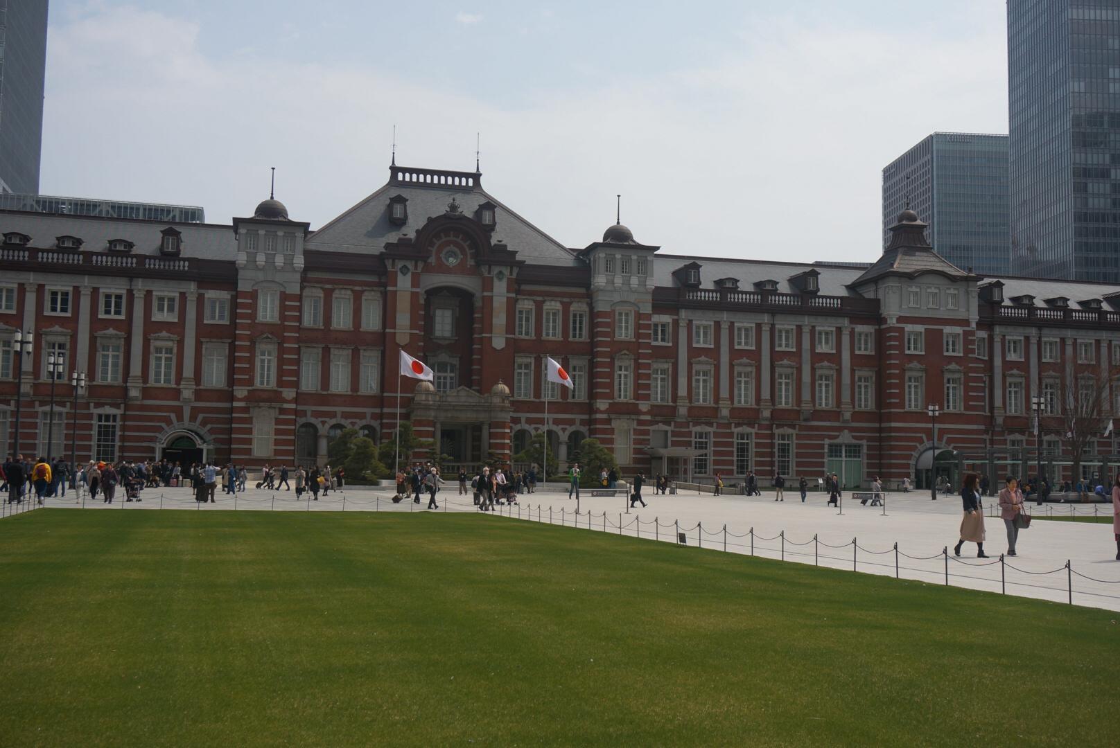 <東京>東京駅