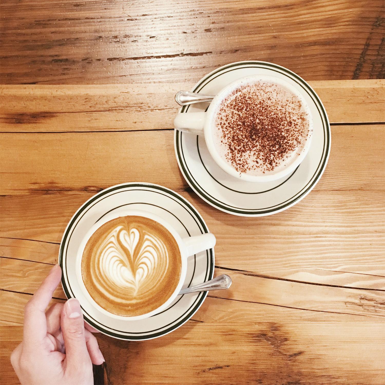 魅力的なカフェが勢揃い♡