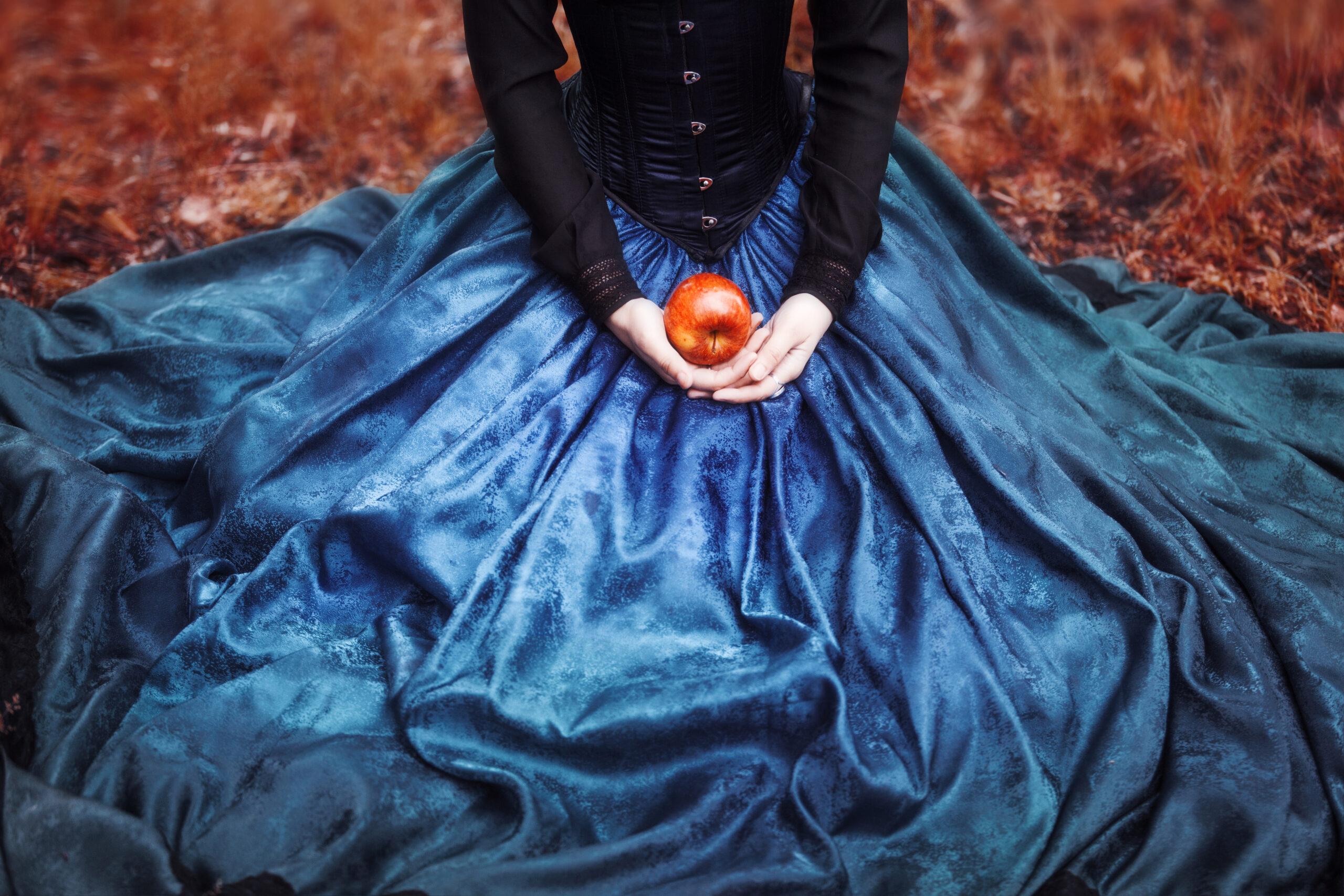 甘いリンゴが、ピュアさを引き立てる