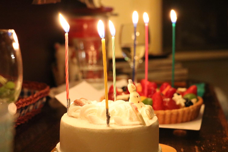 ケーキに飾るのはロウソクじゃない!