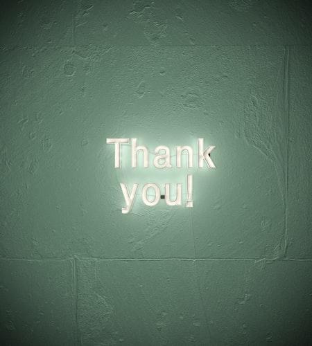 ルール⑤ 'ありがとう'を大切にすること