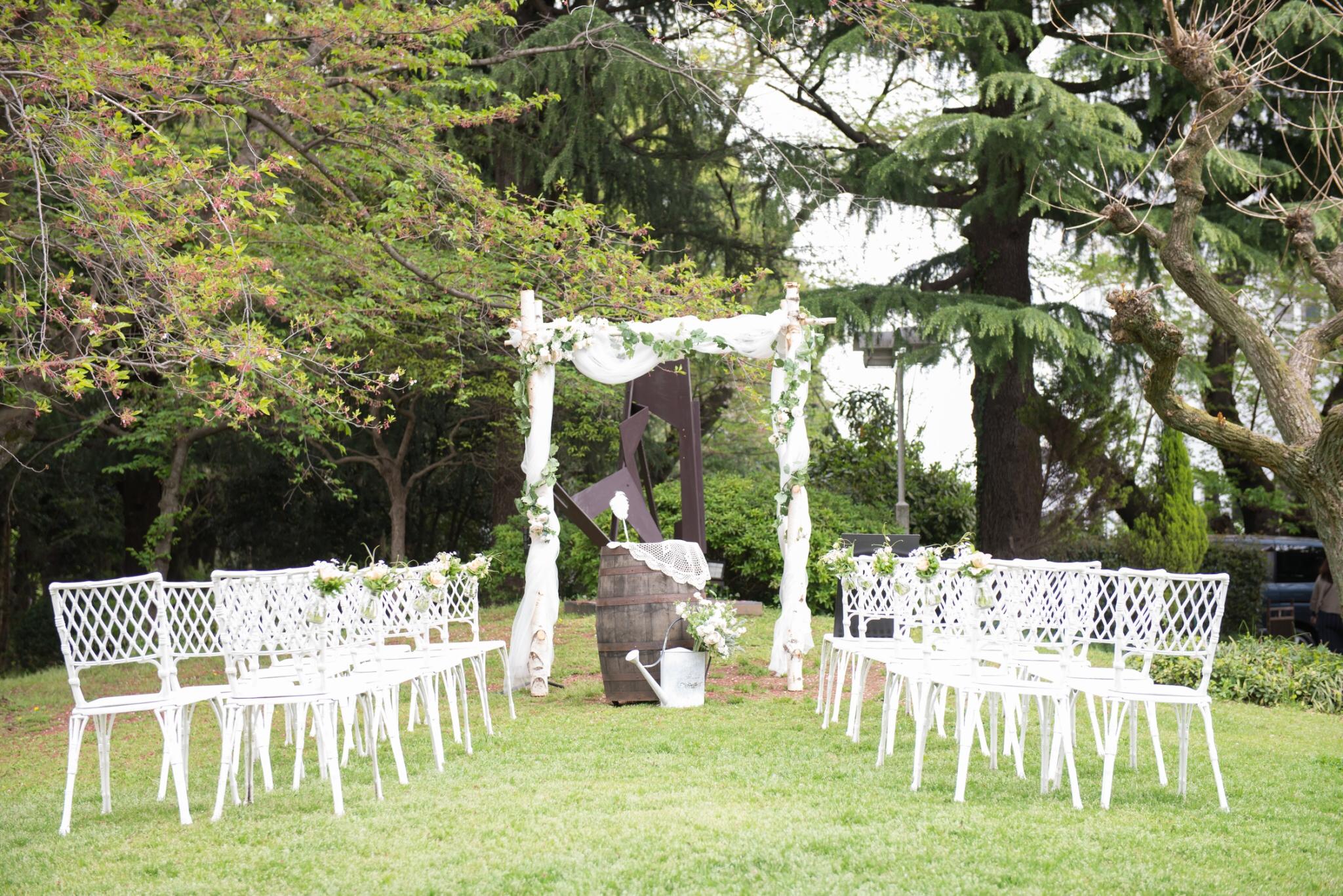 列席者に誓うオリジナル結婚式