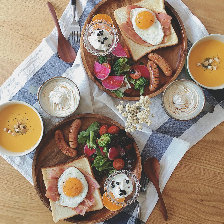 ♡ 朝ご飯を一緒に食べよう