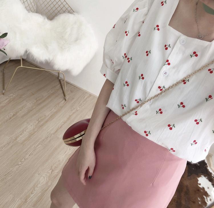 さくらんぼ柄×ファッション