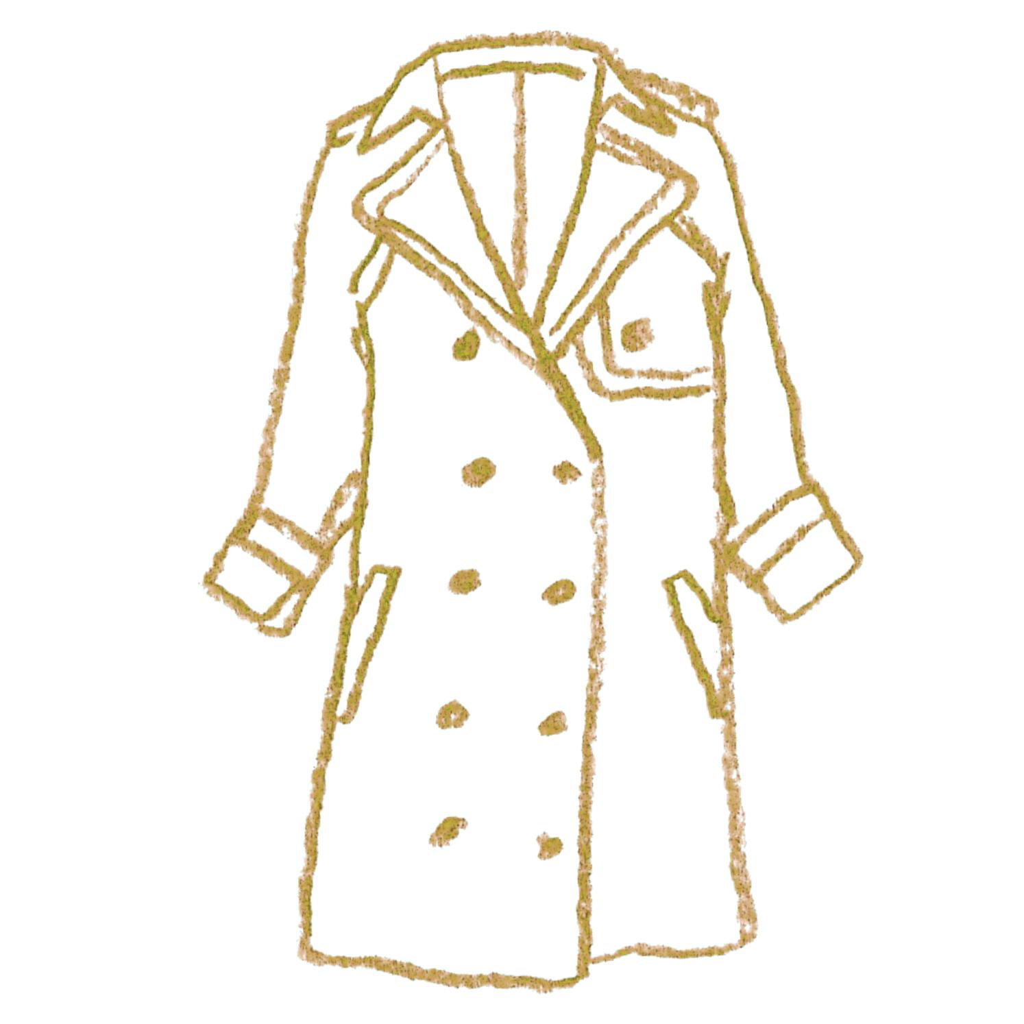 B:薄手のコート