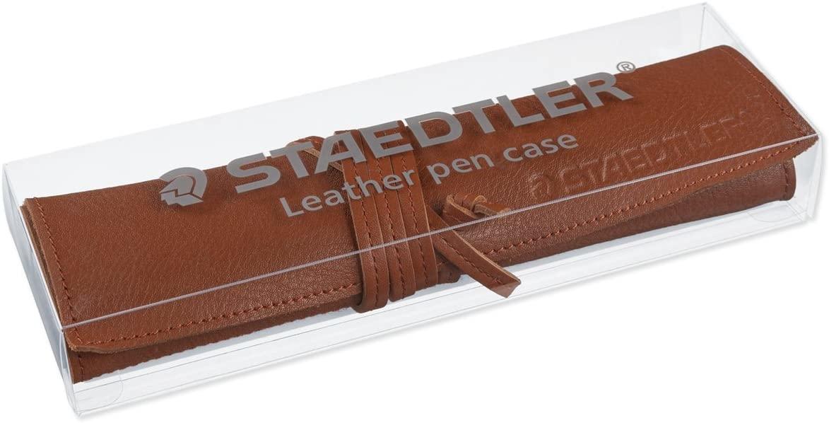 STAEDTLERのリッチなレザーペンケース