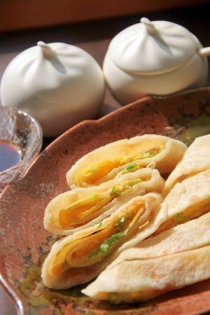 台湾の定番朝ごはん『蛋餅(ダンビン)』