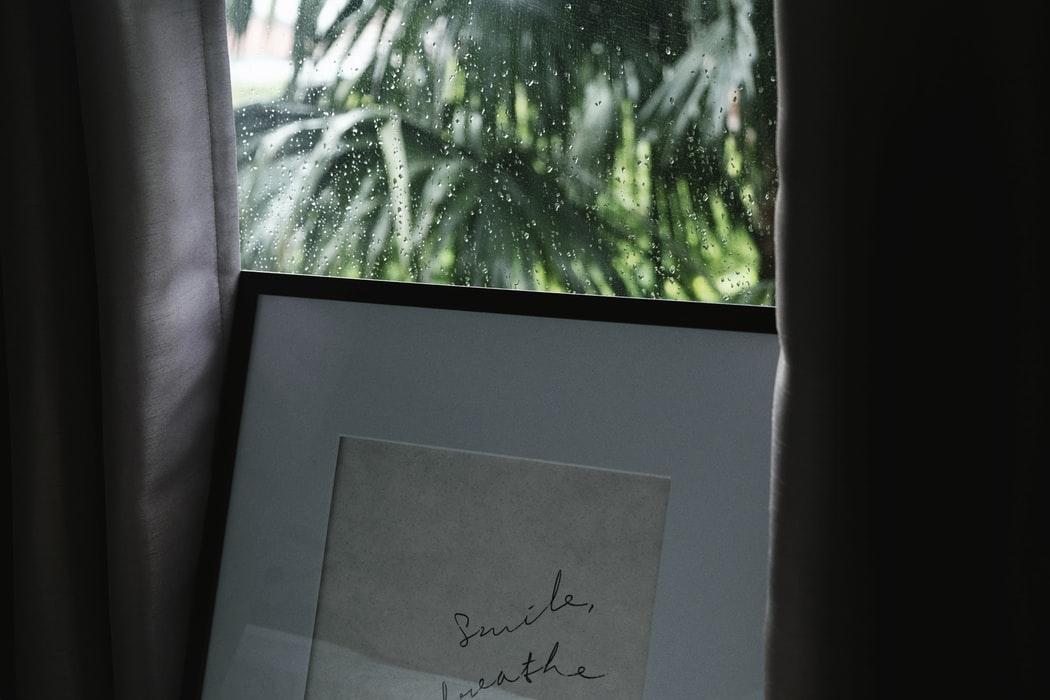 雨の日は、外の世界から離れる良い機会