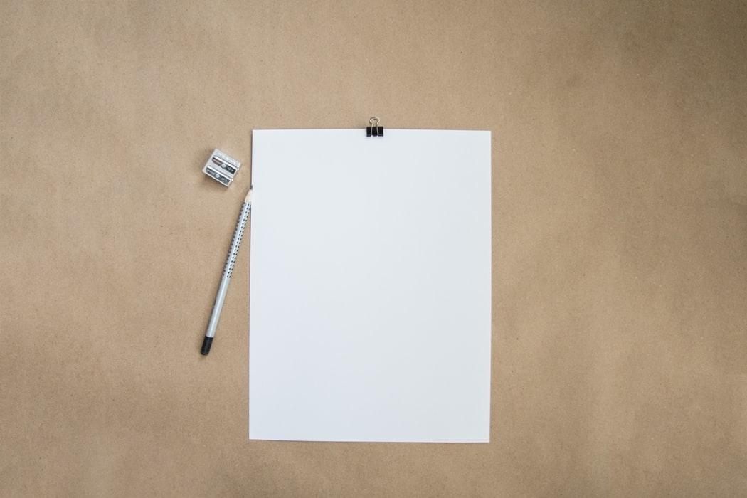 朝起きたら、紙とペンを持って