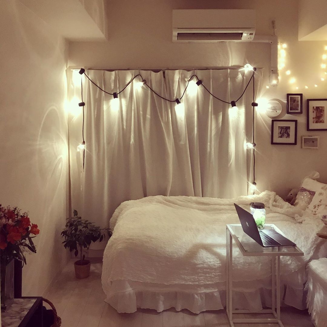コンパクトなお部屋も可愛くしたい
