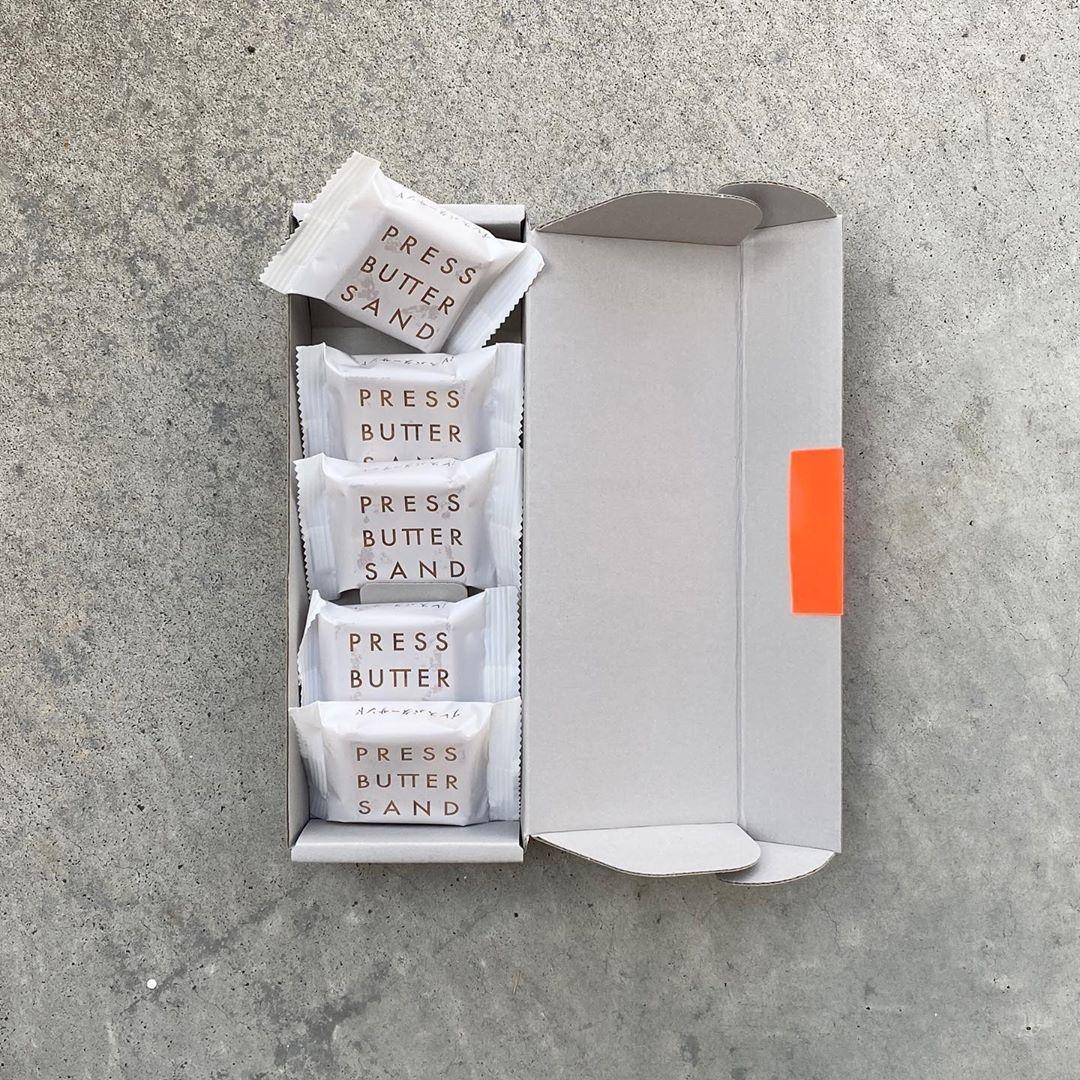 PRESS BUTTER SAND|5個入 1,000円