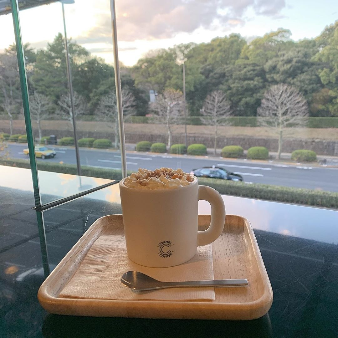 落ち着いた時間を過ごせる|CONNEL COFFEE